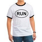 Run Runner Running Track Oval Ringer T