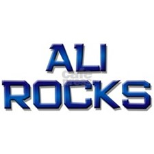 ali rocks Decal Sticker