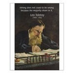 Leo Tolstoy: True Philosophy Small Poster
