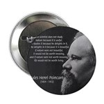 "Poincare: Nature Science 2.25"" Button (100 pack)"