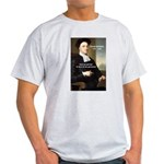 Philosopher: George Berkeley Ash Grey T-Shirt
