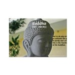 Eastern Philosophy: Buddha Rectangle Magnet (10 pa