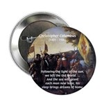 """Christopher Columbus 2.25"""" Button (10 pack)"""