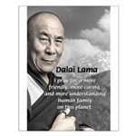 The 14th Dalai Lama Small Poster