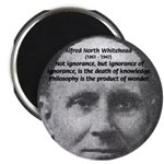 """Philosopher: Alfred Whitehead 2.25"""" Magnet (100 pa"""