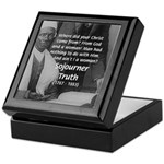 Lincoln with Sojourner Truth Keepsake Box