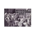 Death of Socrates Rectangle Magnet (10 pack)