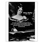 Mary Shelley Frankenstein Small Poster