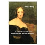 Novelist Mary Shelley Large Poster