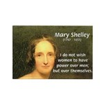 Novelist Mary Shelley Rectangle Magnet (10 pack)