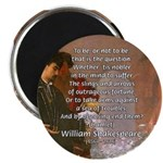 "Hamlet Famous Soliloquy 2.25"" Magnet (10 pack)"