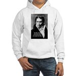 Schopenhauer Philosophy Truth Hooded Sweatshirt