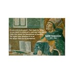 Saint Augustine of Hippo Rectangle Magnet (100 pac