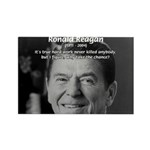 Humour of Ronald Reagan Rectangle Magnet (10 pack)