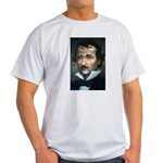 Writer Edgar Allan Poe Ash Grey T-Shirt