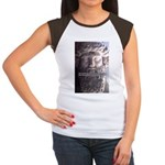 Plato: Wisdom Knowledge Play Women's Cap Sleeve T-