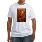 Power of Change Karl Marx Fitted T-Shirt