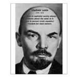 Capitalism and Lenin Small Poster