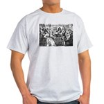 God Unity of All: Leibniz Ash Grey T-Shirt