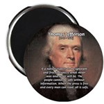 "Media Thomas Jefferson 2.25"" Magnet (10 pack)"