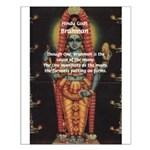 Diversity from Unity: Brahman Small Poster