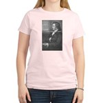 Power of Dreams: Goethe Women's Pink T-Shirt