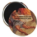 """Cynic Philosophy Diogenes 2.25"""" Magnet (10 pack)"""