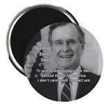 "Politics George W. Bush Snr 2.25"" Magnet (100 pack"