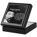 Philosopher Francis Bacon Keepsake Box