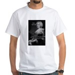 Courage Marie Antoinette White T-Shirt