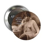 """Spinoza: Desire and Man 2.25"""" Button (10 pack)"""