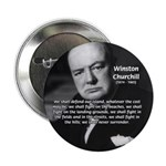"Churchill Fear of Truth 2.25"" Button (10 pack)"