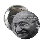 "Power of Truth Gandhi 2.25"" Button (10 pack)"