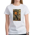 Cezanne Emotion Artistic Quote Women's T-Shirt