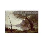 Corot Impressionist Art Rectangle Magnet (10 pack)