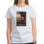 Leonardo da Vinci Quote Women's T-Shirt