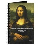 Mona Lisa: Da Vinci Quote Journal