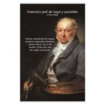 Goya Fantasy Monster Quote Large Poster