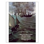 Manet Painting Color Quote Small Poster