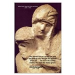 Michelangelo Marble Pieta Large Poster