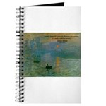 Claude Monet Torture Art Journal