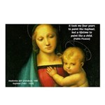 Raphael Madonna Painting Postcards (Package of 8)