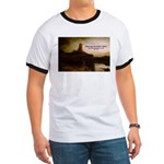 Rembrandt Painting & Quote Ringer T