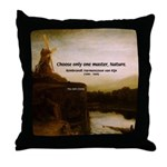 Rembrandt Painting & Quote Throw Pillow