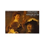 Art & Atmosphere Rembrandt Rectangle Magnet (10 pa