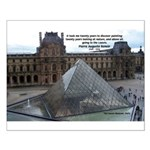 Renoir The Louvre & Nature Small Poster