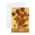 Van Gogh Painting & Quote Greeting Cards (Package