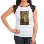 Aesop Quote Psyche Painting Women's Cap Sleeve T-S