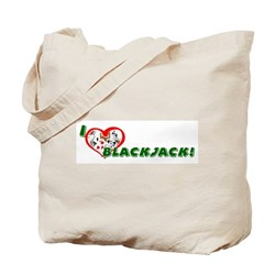 Blackjack Tote Bag
