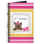 Pink Third Graders School Notebooks Journal